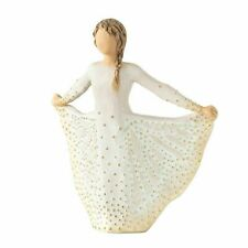 Willow Tree Butterfly Figurine Resin - Cream