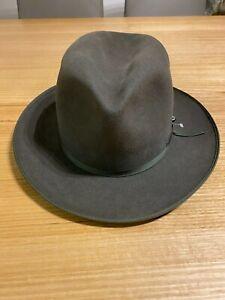 Akubra Campdraft Hat - Bluegrass Green, Size 61, Unisex, Brand New