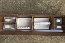 Ceramic Toilet Paper Tissue Holder Towel Bars Soap Holder Almond Porcelain Set
