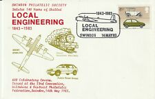 14 MAY 1983 SWINDON PHILATELIC SOCIETY SALUTES LOCAL ENGINEERING LE COVER SHS