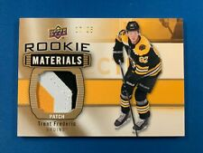 19-20 UD Rookie Materials TRENT FREDERIC Patch /25 * Bruins