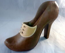 Decorative Miniature Collectible Shoe 4.5 Long 3.75 Tall Wall Mount High Heel