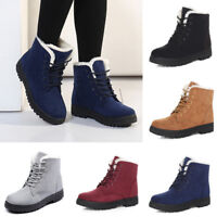 Winter Warm Women's Boots Womens Snow  Suede Fabric  Classic Fashion Short Boots