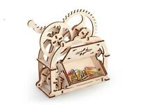 Ugears Etui / Box / Case  Mechanical Wooden KIT - 3D puzzle, Self Assembling