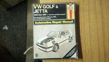 VW GOLF JETTA 1993-1997 AUTO REPAIR MANUAL