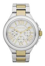 Armbanduhren mit Silber-Armband und Chronograph für Damen