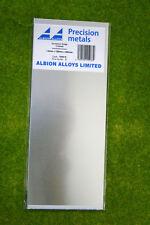 Albion Alloys hoja de aluminio 1.0mm X 100mm X 250mm Hoja SM6