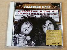 Al Kooper & Mike Bloomfield/Filmore East The Lost Concert Tapes/2003 CD Album