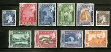 Aden - Seiyun  1954    Scott # 29-38   Mint Lightly Hinged Set