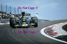 Ronnie Peterson JPS Lotus 72E Winner French Grand Prix 1974 Photograph 5