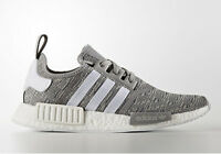 Adidas NMD Runner R1 Glitch Solid Grey White BB2886 Men size 8-13