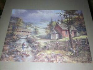 THE PUZZLE COLLECTION BY ROSEART 750 PC JIGSAW PUZZLE SUMMERTIME