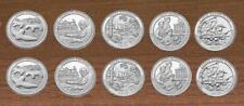 2017 National Park Quarters  P& D Yearly Uncirculated 10 Coins Effigy to Clark