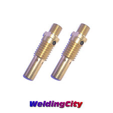 2-pk Gas Diffusers 52 for Tweco #2-#4 & Lincoln Magnum 200-400A MIG Welding Guns