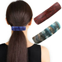 Women's Slide Hair Clips Acrylic Barrette Hairpin Ponytail Hair Pins Accessories