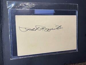 1951 Phil Rizzuto HOF Autograph GPC PSA/DNA Auto Government Postcard Yankees