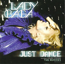 "LADY GAGA ""JustDance"" Rare 2008 4Trk Import CD Single *FeatColbyO'Donis *Remixes"