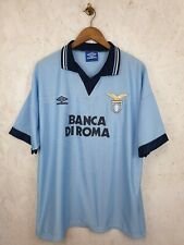 Lazio 1995 Home Camisa Tamaño XL