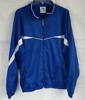 Womens Augusta Sportswear Blue Zipper Light Jacket L New with Tags