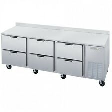 """Beverage Air Wtrd72Ahc-6 72"""" Refrigerated Counter Work Top W/ Drawers"""