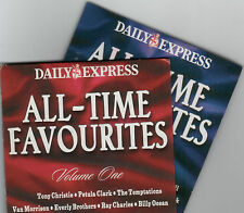 ALL-TIME FAVOURITES - PROMO 2 CD SET: BILLY OCEAN, RAY CHARLES, VAN MORRISON ETC