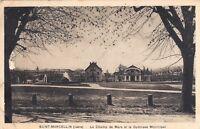 SAINT-MARCELLIN le champ de Mars et le gymnase municipal timbre Pétain 1943