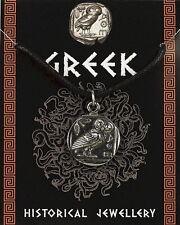 Estaño-Colgante de moneda griega