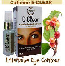 Caffeine & Peptides Intensive Eye Serum Dark Circles, Puffy Baggy Eye 100%Coffee