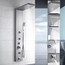 55''Multi Function Shower Column Panel  Mixer Tap Hand Shower Jets Spout Bathtub