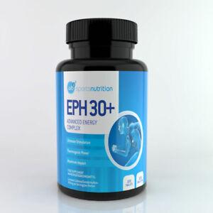 EPH 30+ Ephedrine Free Pills Pre-Workout Energy Raspberry Ketone Caffeine Taurin