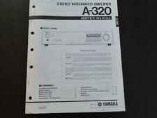 Original Service Manual Schaltplan  Yamaha A-320