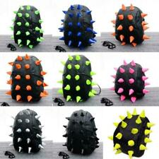 Fashion Unisex Hedgehog Spike Bag Backpack Spiky Punk Shoulder Bag School Bags