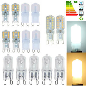 2/10PCS G9 40W Halogen Bulbs 2835 SMD Dimmable 5/8W Capsule Light LED Bulb 220V