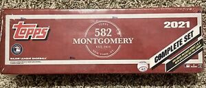 2021 Topps 582 Montgomery Club Complete Factory Set Sealed Foil Stamp Exclusive