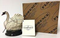 Vintage Giuseppe Armani Swan Figurine Statuette 2111s Florence