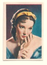 1936 Spanish Nestle Film Star Paper Thin Stamp Sticker  #38 Jessie Matthews