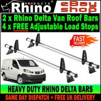 Nissan NV200 barras de aleación de aluminio Rack Rieles Techo Para adaptarse a 2010
