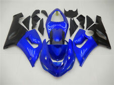 IF Fairing Kit Fit for KAWASAKI 2005 2006 ZX6R 636 ABS Blue Black Injection a007