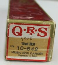 More details for qrs pianola word roll: music box dancer