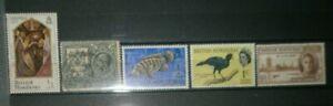 Small lot of British Honduras stamps