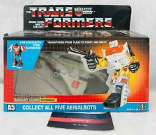 Transformers Original G1 1986 Aerialbot Silverbolt Complete with Box and Bubble