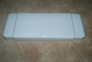 Case 1000-1100 White Toilet Tank Lid - FLAWLESS, FULLY SANITIZED (Robinson, Ill)