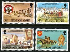 ISLE OF MAN 1974 UMM MNH STAMP SET HISTORICAL EVENTS ANNIVERSARIES SG 50-53