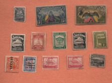 13 STAMPS FROM ECUADOR,7 FROM COLUMBIA,10 FROM GUATEMALA & 2   HONDURAS USED