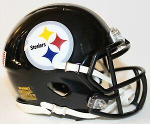 Troy Polamalu Pittsburgh Steelers Riddell Custom Mini