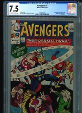 Avengers #7 CGC 7.5 (1964) Stan Lee Jack Kirby Enchantress Executioner Loki