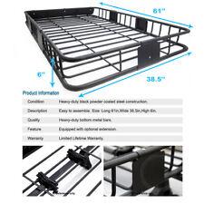 Roof top Rack Travel Basket Storage Wind Fairing For Echo FJ Cruiser Highla.etc