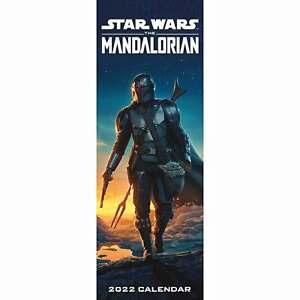 Star Wars: The Mandalorian Slim Calendar 2022
