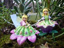 Pair of Flower Fairy Christmas Ornament Kurt Adler MO