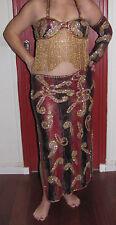 costume danse orientale bordeaux BALADI